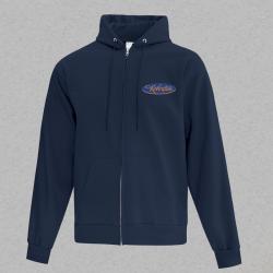 Unisex Fleece Full Zip Hoodie